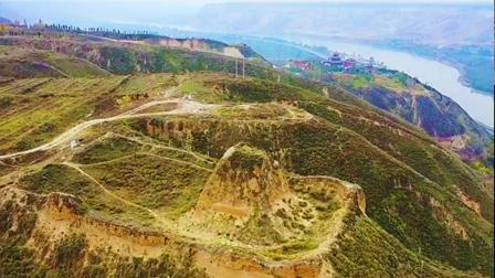 盐锅峡三江口小茨村明朝烽火台土长城
