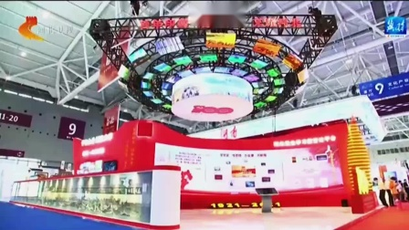 深圳文博会LED屏展馆吸引了央视和新华网媒体报道【联诚发】