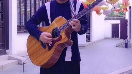 西海情歌,朱丽叶吉他独奏