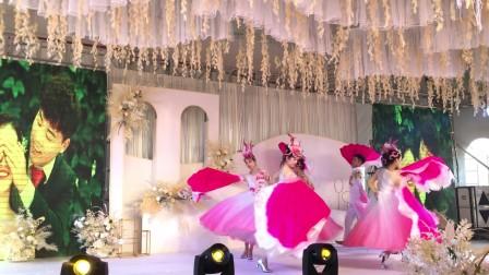 武汉大型民族舞演出18672791302武汉金帝歌舞团花开中国舞蹈表演