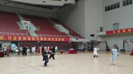 温州市第十七届运动会太极拳比赛在乐清体育馆举行