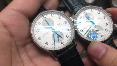 ZF厂葡萄牙葡计腕表对比AZ厂