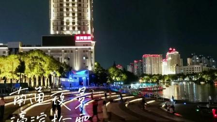 南通濠河夜景多美!