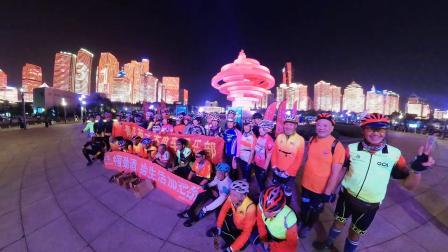 中国劲酒给骑行加把劲-青岛老年骑游俱乐部