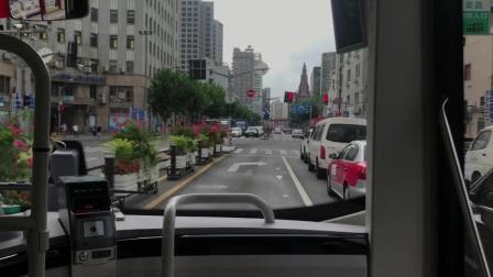 上海久事公交—巴士二公司49路乘车片段