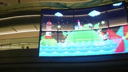 拒绝千篇一律,晶泓LED透明屏打造高颜值、趣味十足的新型儿童医院——晶泓-乌鲁木齐市儿童医院项目