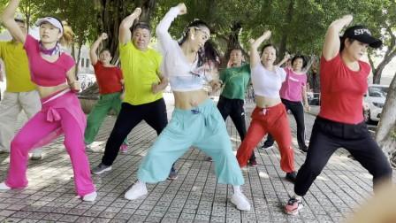 深圳英英炫舞团1922英英原创健身操巴比20211011