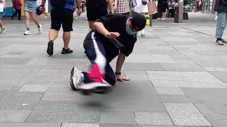 开始你的街拍跳舞时刻bboy浩然HR