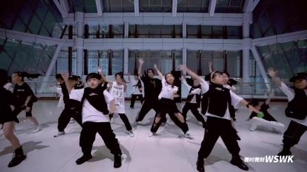临平街舞杭州舞时舞刻街舞万宝城校区国庆大龙老师集训少儿街舞编舞片段