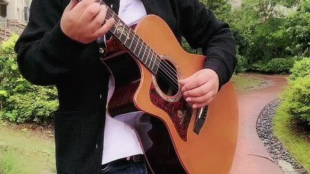 在雨中,朱丽叶吉他独奏郭咚咚