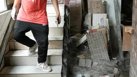 广州教学贴楼梯瓷砖培训