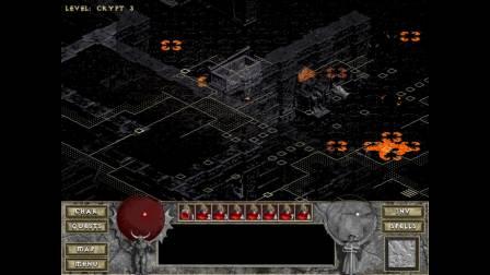 《暗黑破坏神:地狱火》地图清理大师 野蛮人07完