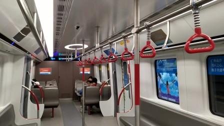【广州地铁18号线信号设备故障】番禺广场站临时停车10分钟(1)
