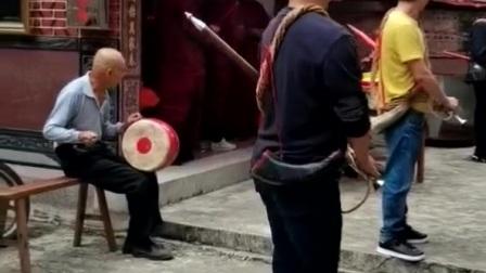 安溪蓬莱美滨村魁美伽喃宫伽喃大王做牙