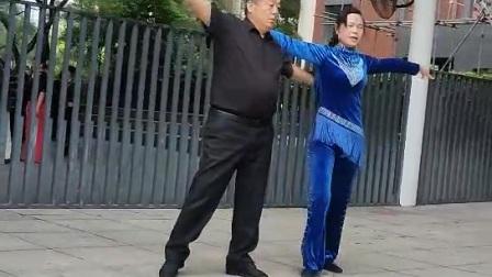 刚舞休闲伦巴《情丝绕指柔》海韵老师与杨哥