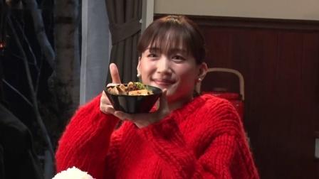 日本国民女神绫濑遥新冠康复 最新食品广告拍摄纪实