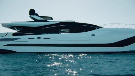 超级游艇 Mangusta 165REV,你的海上梦想家园