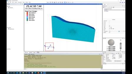 FLAC3D 7.0初学入门
