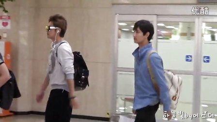 【moist2471】130901 동방신기 Yunho  Changmin 김포공항입국