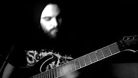 vildhjarta - shadow (Daniel Bergström)guitar play
