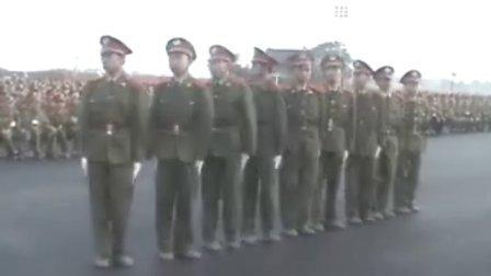 西电军训-训练生活