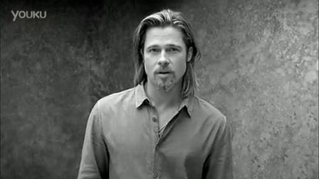 Brad Pitt 代言Chanel No.5香水广告