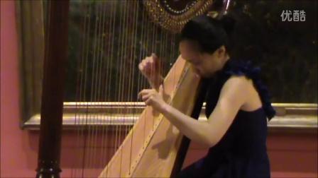 J.S.巴赫 BWV 914 - 竖琴 - 陈韵嬛