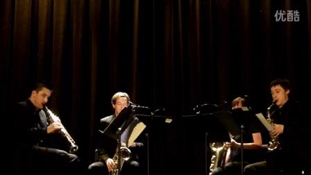 法国Neva萨克斯四重奏: 巴伯《弦乐柔板》