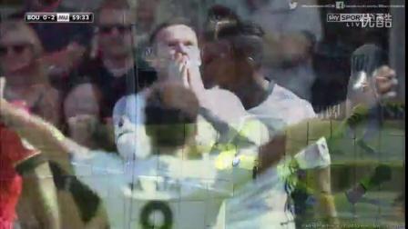 穆帅首秀,伊布世界波 鲁尼马塔破门 曼联3-1伯恩茅斯