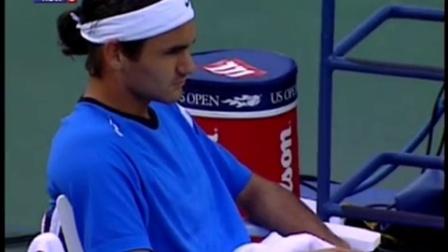 2004美网决赛.费德勒VS休伊特 1