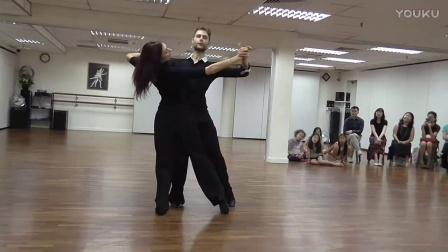 摩登舞讲座 2016.11.16 新加坡SODC Ballroom Lecture by Valerio & Monica