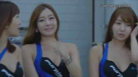 上月韩国车展现场 车模美女如云