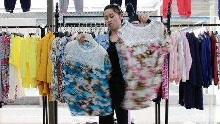 精品女装批发服装批发女士时尚夏款妈妈装小衫超低价走份30件一份,不可挑款零售混批