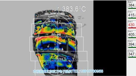 红外热像仪测量钢厂钢包温度分布的应用