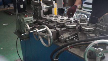 JHSK-W2自动弯环机 密封圈弯环 金属密封垫弯环设备 弯环机 垫片弯环机