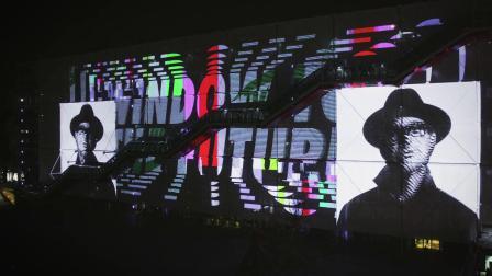 """""""传统的电影""""与NIKE AIR MAX耐克在蓬皮杜艺术中心"""