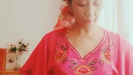 古筝练习【梦中的兰花花】57秒视频  蓝玫