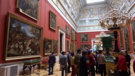 【俄罗斯游记1】冬  宫(俄罗斯帝国沙皇的皇宫)圣比德堡之旅