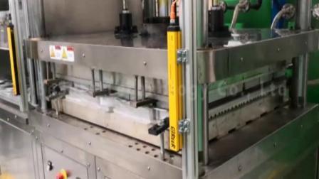 必硕科技——纸浆模塑设备半自动环保纸餐具生产机械