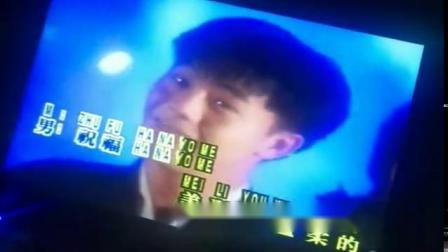 电视台播放蔡可荔的忠实粉丝侯俊辉与张美玲演唱的花嫁