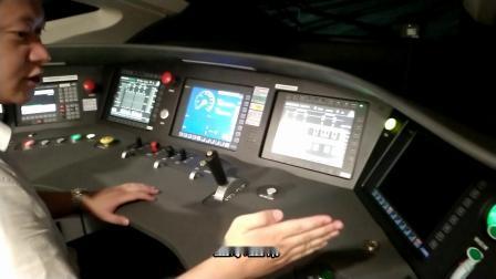 襄阳动车CR400AF动车组接车作业流程