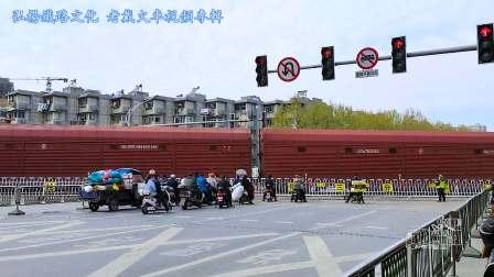 """实拍宁芜大合集:抗""""疫""""获成效 部分客车仍停运 货运更显繁忙"""