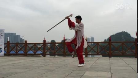 韦红平52式武当太乙剑