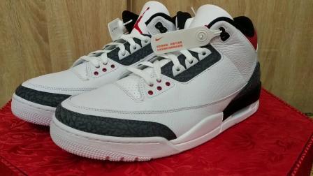 龙哥号外138 Air Jordan 3 丹宁