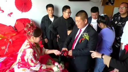 尖角二村 王立坤 佟佳 婚礼录像 高清