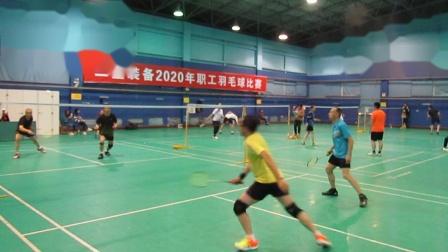 2020二重50岁以上组羽毛球男双3-4名赛