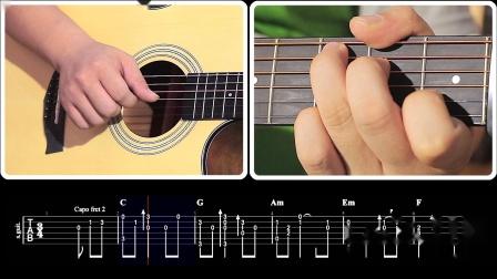 玩易吉他指弹 Always With Me 千与千寻 每日一句 第10课