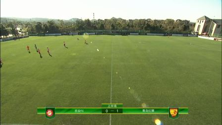 2020 China League Two: Qingdao Red Lions - Xi'an FC (1-0)