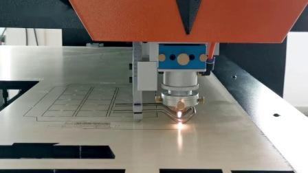 400W特思德激光刀模机视频