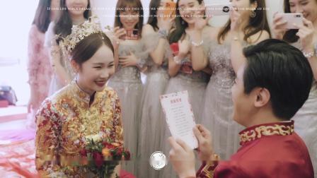 鹿光映畫婚礼回放作品FOR2021-01-22深圳莱佛士